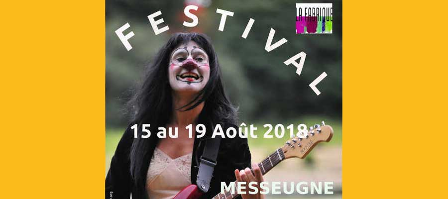 LA FABRIQUE Festival from 15th to 19th August 2018